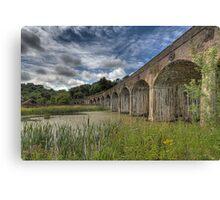 Coalbrooke dale aquaduct, Telford Shropshire Canvas Print