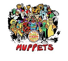 Muppets Beatles Photographic Print