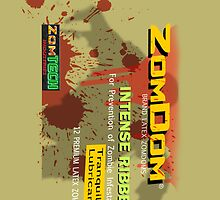 Zomdom iPhone 4 Case by JohnyGeeThe2nd