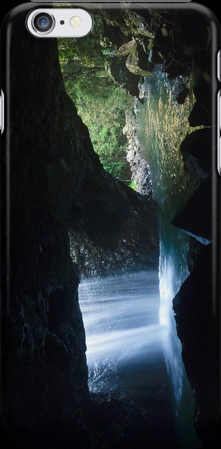 Natural Bridge   - iPhone case by Odille Esmonde-Morgan