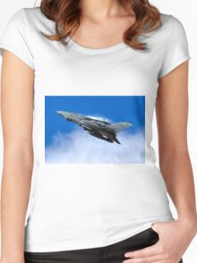 Royal Air Foce Panavia Tornado GR4 Women's Fitted Scoop T-Shirt