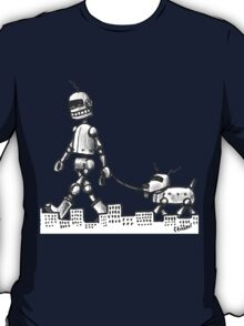 Walkin the Robot Dog T-Shirt