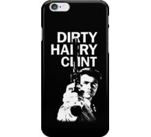 Dirty Harry Clint iPhone Case/Skin