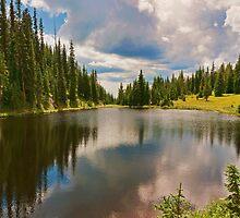 Mountain Lake by JimGuy