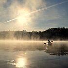 Morning Paddle by Sara Bawtinheimer