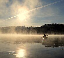 Morning Paddle by Sara Bawtinheimer