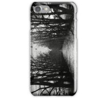 The Shortcut - black iPhone Case/Skin