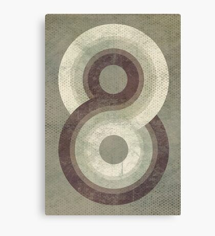 Eight Canvas Print