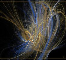 Champagne by Fractal artist Sipo Liimatainen