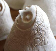 White stoneware 'Little breath' by Belin