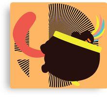 Lemmy Koopa (Tongue Jab) - Sunset Shores Canvas Print