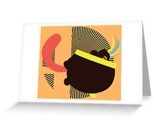 Lemmy Koopa (Tongue Jab) - Sunset Shores Greeting Card