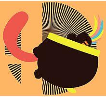 Lemmy Koopa (Tongue Jab) - Sunset Shores Photographic Print