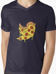 Twitter Pizza Mens V-Neck T-Shirt