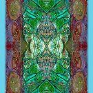 iphone case - textured green by MelDavies