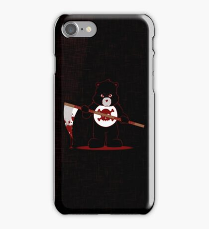 Scare Bear iPhone Case/Skin