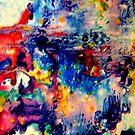 iphone case - nebula by MelDavies