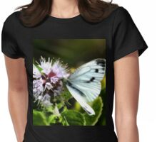 Butterfly ......... Womens Fitted T-Shirt
