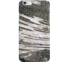 Stripey birch bark iPhone Case/Skin
