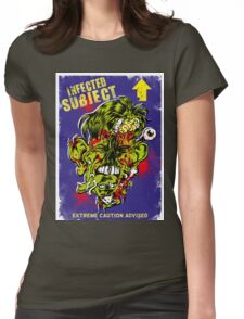 Infected Subject Womens Fitted T-Shirt