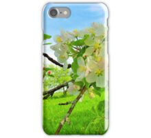 Maritime Apple Blossoms iPhone Case/Skin