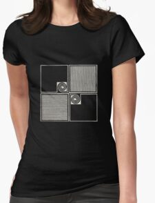 Allah Las Worship The Sun Womens Fitted T-Shirt