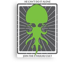 Cthulhu Howard Phillips Lovecraft Canvas Print