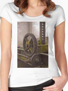 mechanism 2 Women's Fitted Scoop T-Shirt