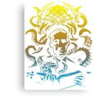 Cthulhu Howard Phillips Lovecraft HP historical society Canvas Print
