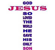 ~ John 3:16 ~ by Donna Keevers Driver