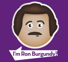I'm Ron Burgundy? by MJ96