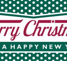 Merry Krispmas Sticker