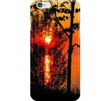 Sunset Through The Trees ~ iphone iPhone Case/Skin