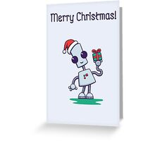 Ned's Christmas Card Greeting Card