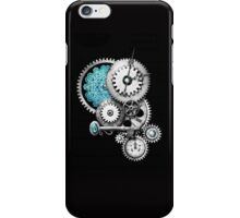 Steampunk iPhone4 on black iPhone Case/Skin