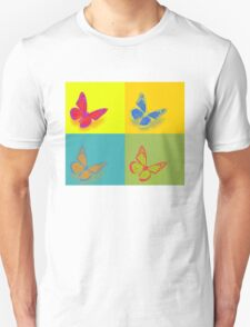 Butterfly Pop Art T 01 T-Shirt