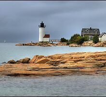 Annisquam Light by Thom  Perry