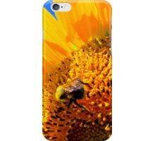 iPhone Case ~ Sunflower Bee iPhone Case/Skin