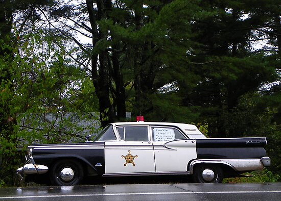 Mayberry Police Car? by MaryinMaine