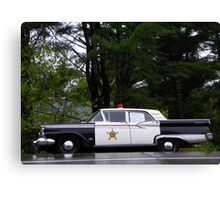 Mayberry Police Car? Canvas Print