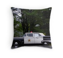Mayberry Police Car? Throw Pillow