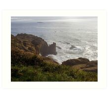 In The Sepulcher There By The Sea Art Print