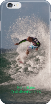 Kelly Slater #2 - iPhone case by Odille Esmonde-Morgan