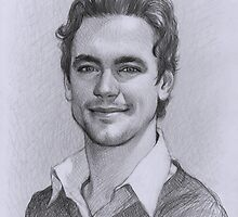 Matt Bomer by thedrawinghands