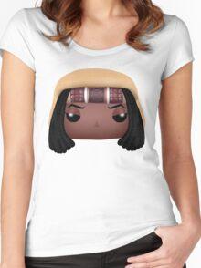 AMC The Walking Dead - Michonne - Funko Pop! Women's Fitted Scoop T-Shirt