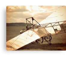 Old Airplane Crash Canvas Print