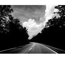 Down the Road Photographic Print