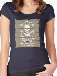 The Barbery Coast Women's Fitted Scoop T-Shirt