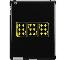 666 Cards - Yellow iPad Case/Skin