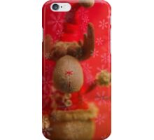 iPhone Case - Happy Holidy Reindeer iPhone Case/Skin